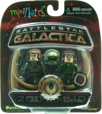 Battlestar Galactica 2003 Wave 3 Minimates 2pc Set D