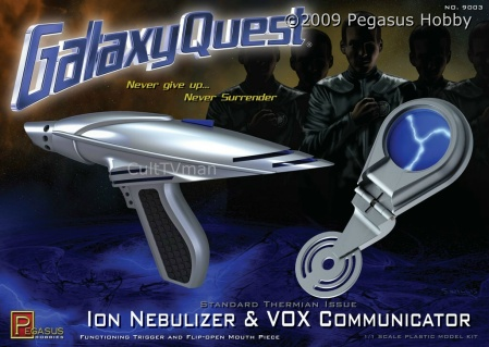 Galaxy Quest ION Nebulizer & VOX Communicator Set Model Kit