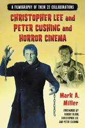 Christopher Lee and Peter Cushing and Horror Cinema Book