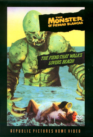 Monster Of Piedras Blancas 1959 DVD-R