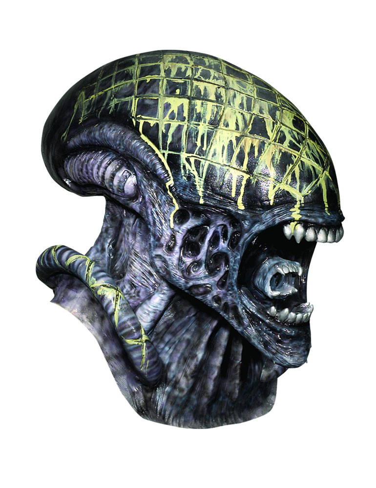 Alien Deluxe Overhead Latex Adult Mask