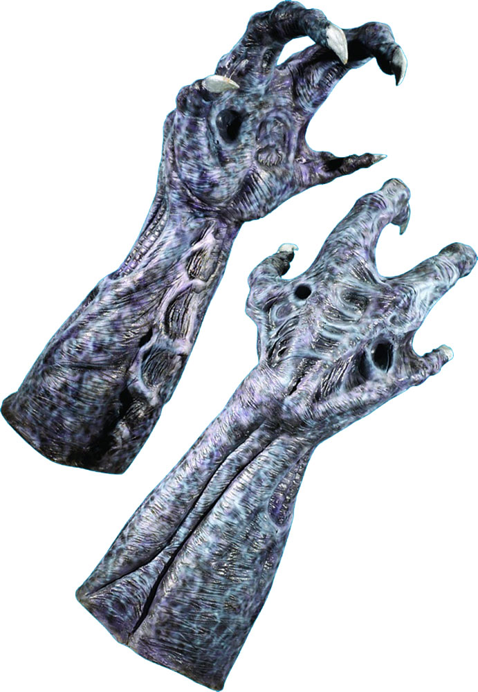 Alien Deluxe Latex Adult Hands
