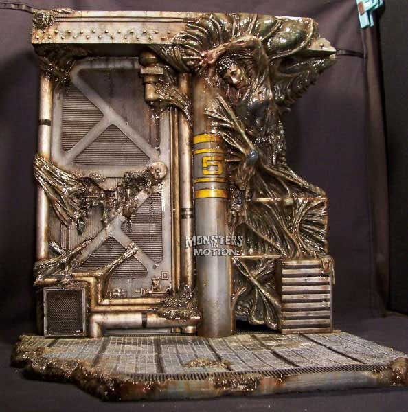 Alien Deluxe Base Diorama Model Hobby Kit
