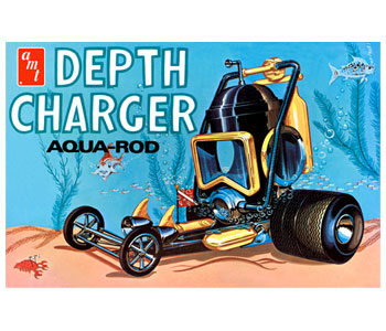 Depth Charger Aqua Rod Model Kit-AMT/ERTL