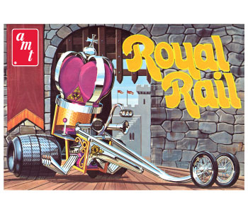 Royal Rail Rod Plastic Model KIt-AMT/ERTL