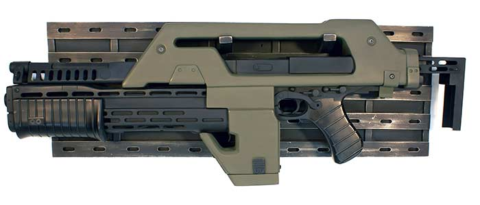 "Aliens Hero Pulse Rifle ""Olive Drab"" Version Prop Replica"