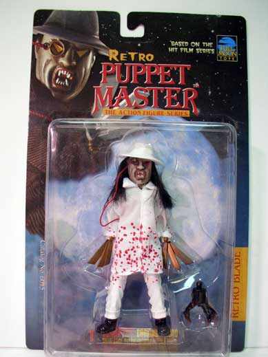 Puppet Master Retro Blade VARIANT Version Action Figure