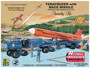 Teracruzer with Missile Model Kit Renwal SSP 1:32
