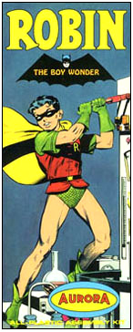 Batman Robin the Boy Wonder Aurora Reproduction Box