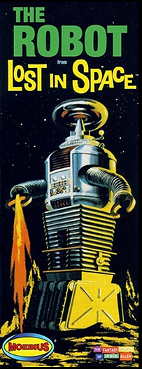 Lost In Space B-9 / YM3 Robot 1/24 Plastic Model Kit