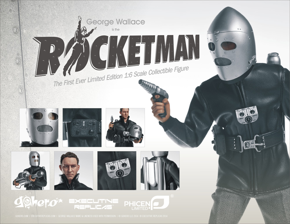 "Rocketman George Wallace 12"" Figure Limited Edition"