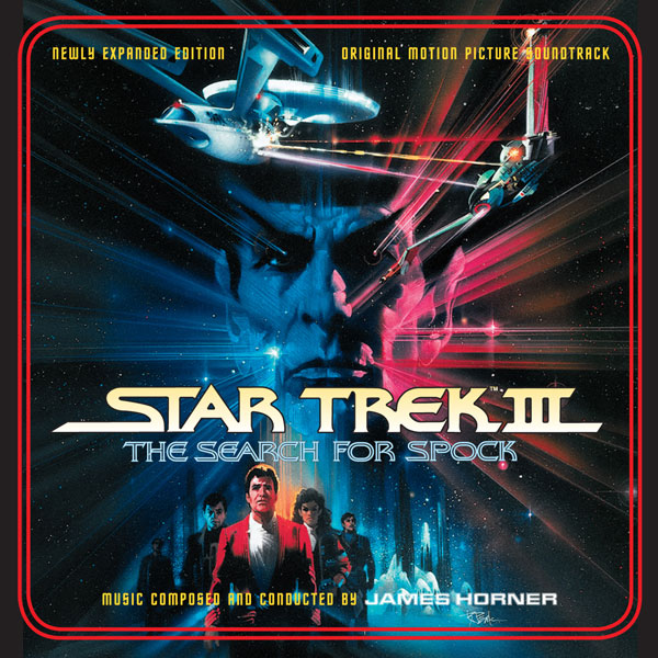 Star Trek III: The Search for Spock Soundtrack CD James Horner