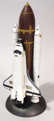 Space Shuttle with Booster Rockets Model Kit by Lindberg