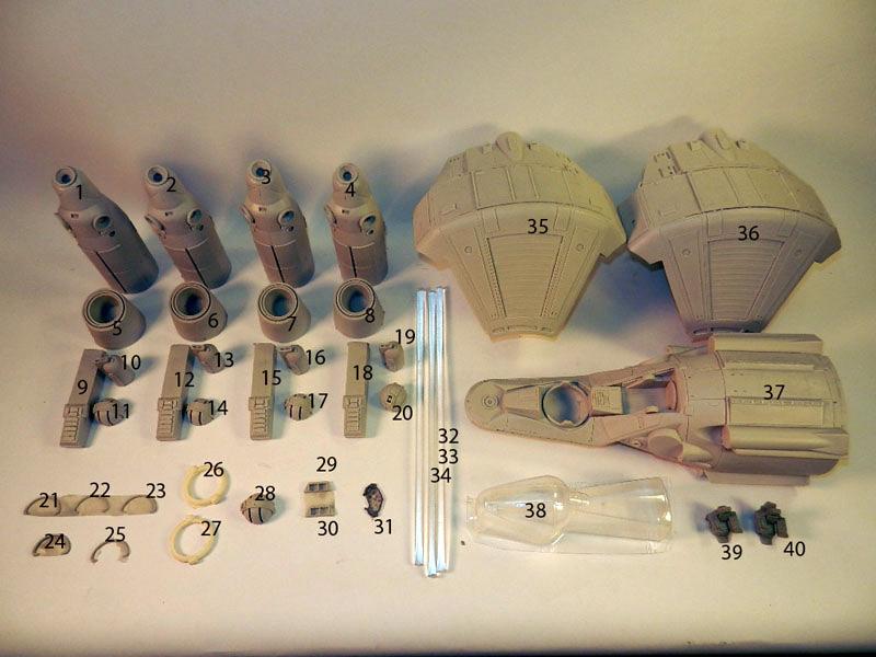 Gunstar Ultimate Resin Model Kit From The Last Starfighter
