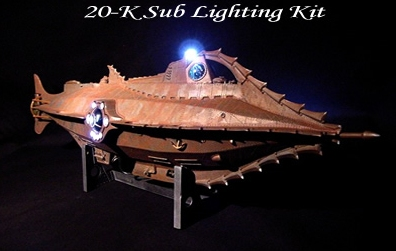 Nautilus 20,000 Leagues Lighting Kit