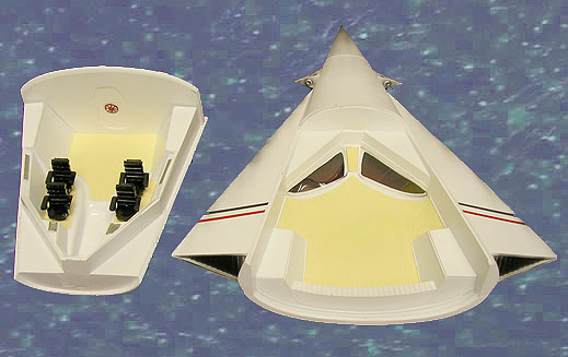 "Icarus ANSA Spacecraft with Interior 12"" Model Kit"