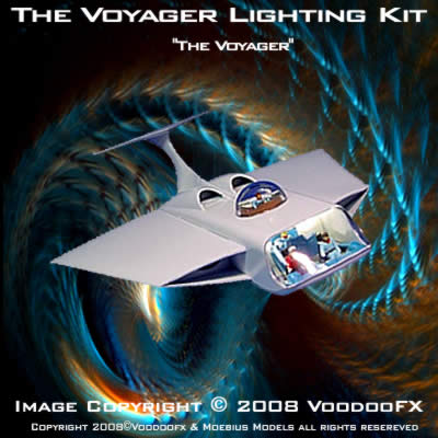 Fantastic Voyage Voyager Aurora LIGHTING KIT
