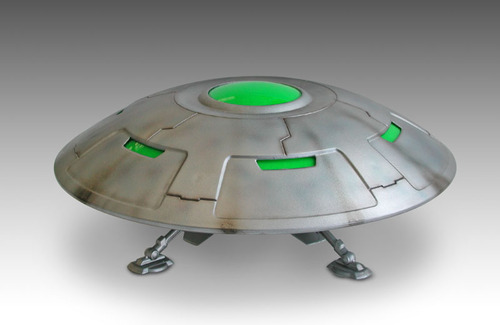 Area 51 U.F.O. AE-341.15B Flying Saucer Model Kit UFO