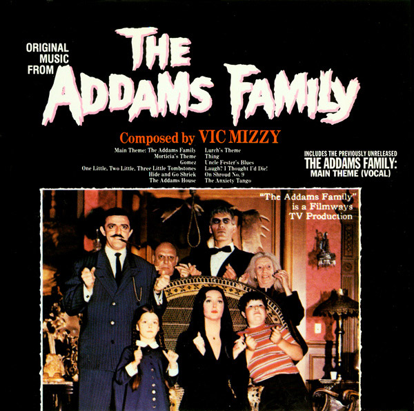 Addams Family TV Soundtrack CD Vic Mizzy