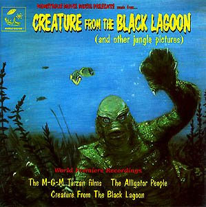 Creature from the Black Lagoon / Alligator People Soundtrack CD