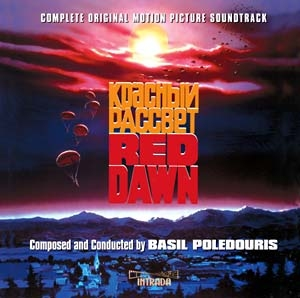 Red Dawn Expanded Soundtrack CD by Basil Poledouris