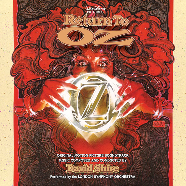 Return To Oz Soundtrack CD David Shire 2 CD Set