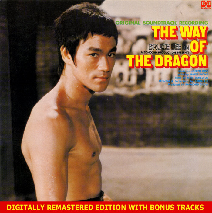 The Way of the Dragon Soundtrack CD Joseph Koo Bruce Lee