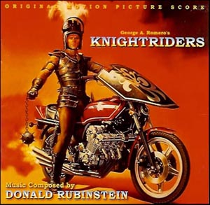 Knightriders Uncut Soundtrack CD Score-MINT SEALED OOP FREE SHIPPING