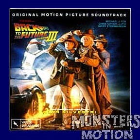 Back to the Future Part 3 Soundtrack CD Alan Silvestri