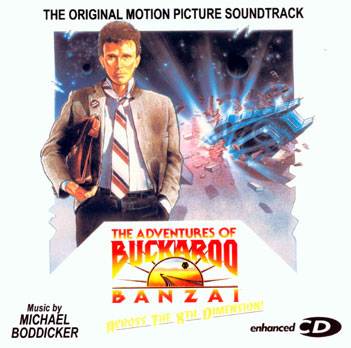 Buckaroo Banzai Enhanced Soundtrack CD Michael Boddicker