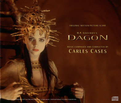 Dagon Soundtrack CD-R Charles Cases H.P. Lovecraft