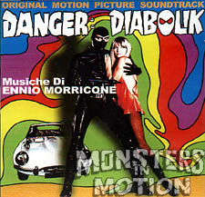 Danger Diabolik Soundtrack CD Ennio Morricone