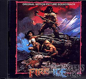 Fire And Ice Soundtrack CD William Kraft