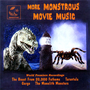 Monstrous Movie Music, More Volume 2 Soundtrack CD Various Artis