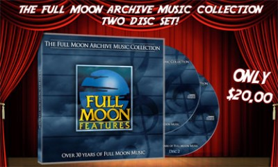Full Moon Archive Music Collection CD