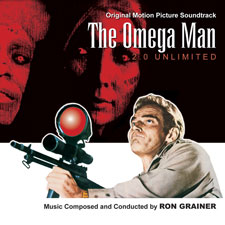 Omega Man 2.0 Unlimited (1971) Soundtrack Score CD Ron Grainer