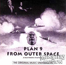 Plan 9 From Outer Space Score CD No Dialogue