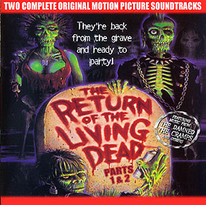 Return Of The Living Dead Parts 1 & 2 Soundtrack CD Various Arti