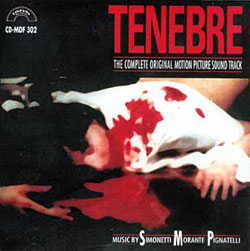 Tenebre Soundtrack CD Goblin Simonetti