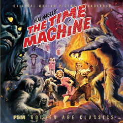 Time Machine 1960 Complete Score CD Limited Edition of 3,000 Cop
