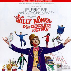 Willy Wonka & The Chocolate Factory Soundtrack CD