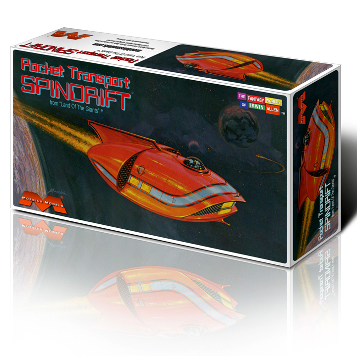 Land of the Giants Spindrift Spaceship Model Kit 1/128 Scale
