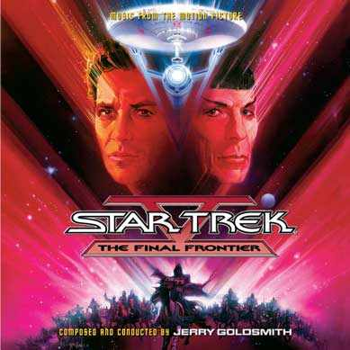 Star Trek V Final Frontier Soundtrack CD Jerry Goldsmith 2CD Set