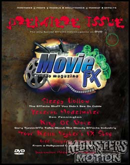 Movie FX Special Effects Magazine Issue #1 DVD