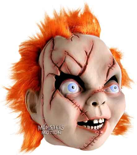 Seed Of Chucky Pullover Latex Mask W Hair
