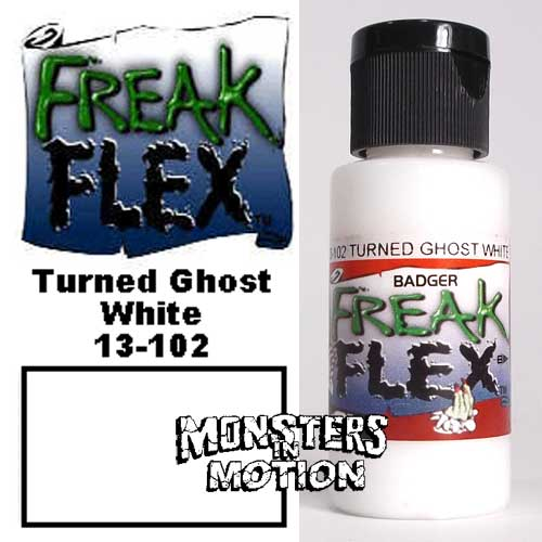 Freak Flex Turned Ghost White Paint 1 Ounce Flip Top Bottle