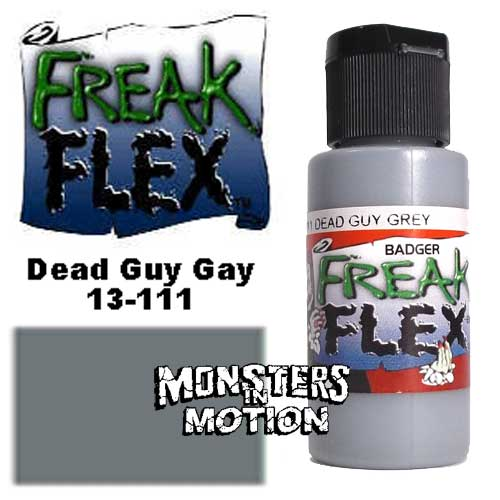 Freak Flex Dead Guy Gray Paint 1 Ounce Flip Top Bottle