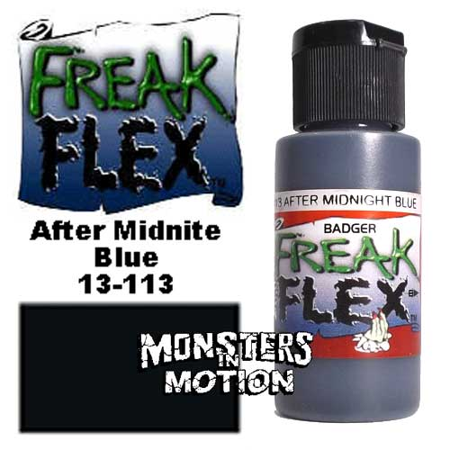 Freak Flex After Midnite Blue Paint 1 Ounce Flip Top Bottle