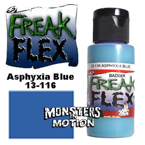 Freak Flex Asphyxia Blue Paint 1 Ounce Flip Top Bottle