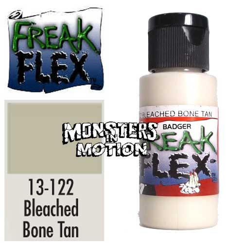 Freak Flex Bleached Bone Tan Paint 1 Ounce Flip Top Bottle